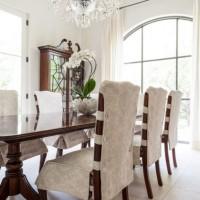 чехлы для стульев на кухню фото 11