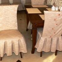чехлы для стульев на кухню фото 12