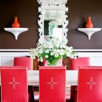 чехлы для стульев на кухню фото 32