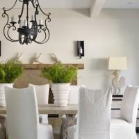 чехлы для стульев на кухню фото 7