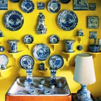 декоративные настенные тарелки фото