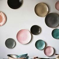 декоративные настенные тарелки фото 37
