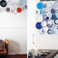 декоративные настенные тарелки фото 38