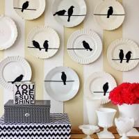 декоративные настенные тарелки фото 43
