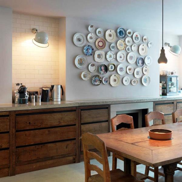 декоративные тарелки на стену фото 4