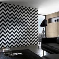 дизайн комнаты в черно белых тонах фото 17
