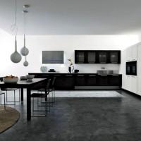 дизайн комнаты в черно белых тонах фото 20