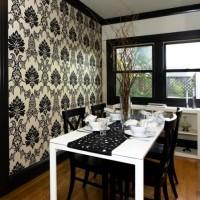 дизайн комнаты в черно белых тонах фото 35