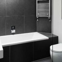 дизайн комнаты в черно белых тонах фото 7