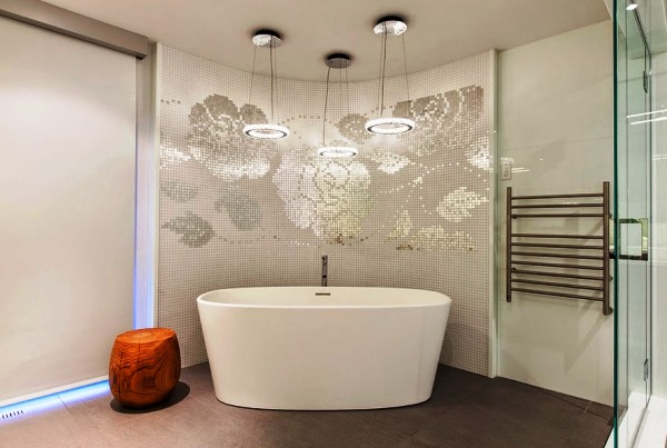 дизайн ванной комнаты с мозаикой фото