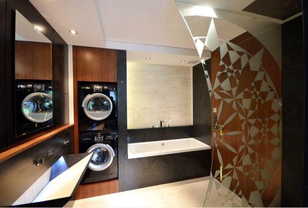 дизайн ванной комнаты со стиральной машиной фото