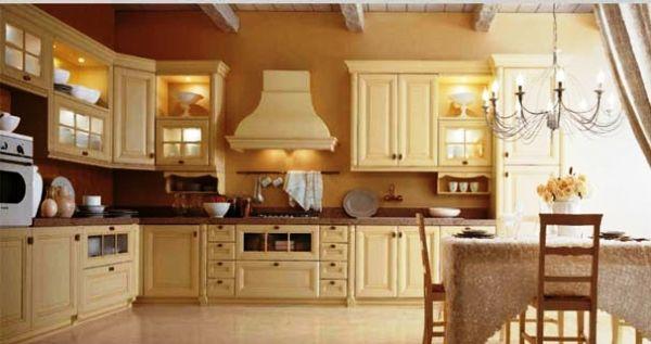 интерьер кухни в бежевом цвете фото 2