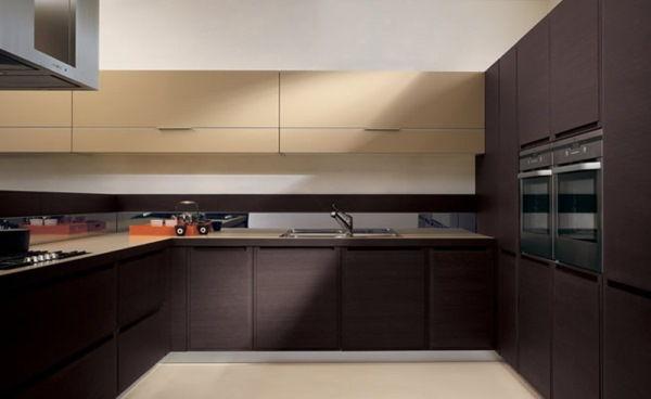 интерьер кухни в бежевом цвете фото 7