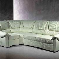 кожаный угловой диван фото 12