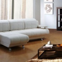 кожаный угловой диван фото 19