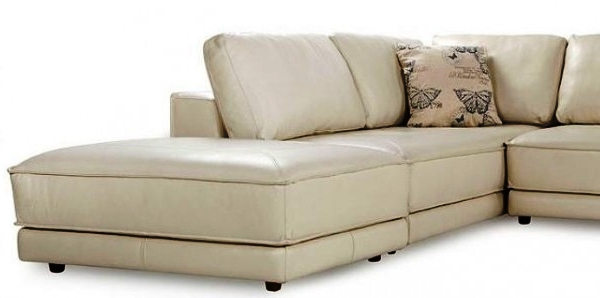 кожаный угловой диван фото 2