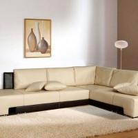 кожаный угловой диван фото 22