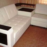 кожаный угловой диван фото 31