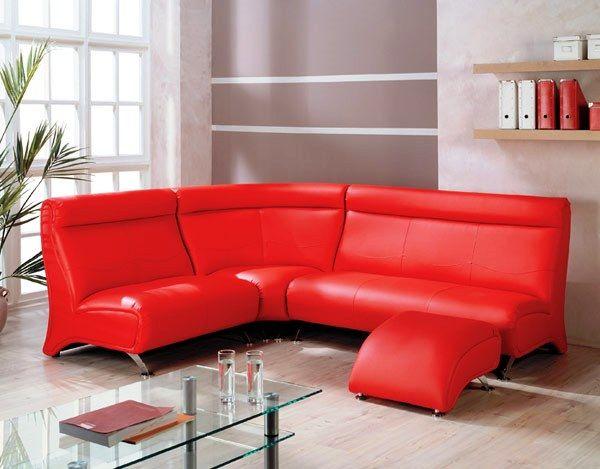 кожаный угловой диван фото 8