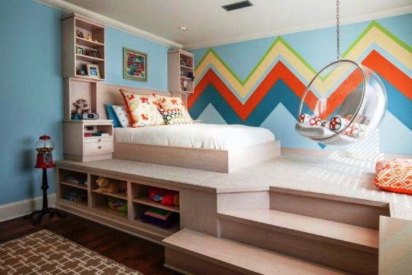 кровать с подиумом фото 6