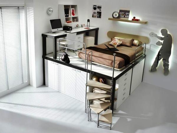 кровать с подиумом фото 8