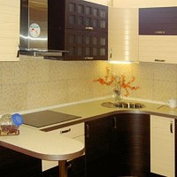 кухня в бежево коричневых тонах фото 18