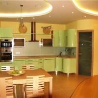 кухня в бежево коричневых тонах фото 24