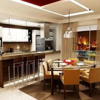 кухня в бежево коричневых тонах фото 25