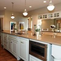 кухня в бежево коричневых тонах фото 4