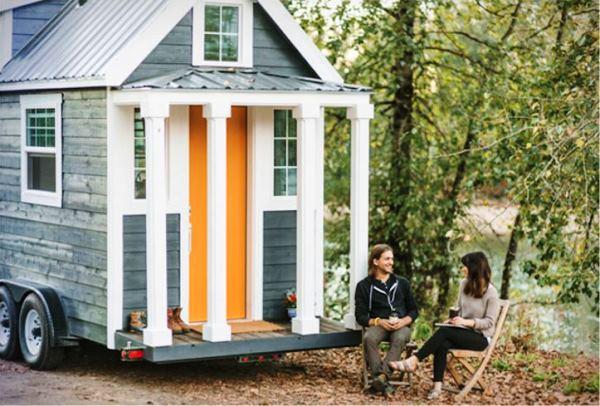 мини-дом на колесах фото
