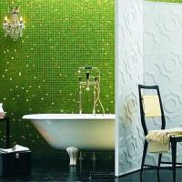 мозаика в ванной дизайн фото 10