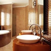 мозаика в ванной дизайн фото 11