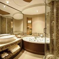 мозаика в ванной дизайн фото 14