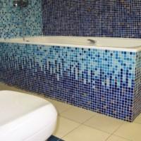 мозаика в ванной дизайн фото 15