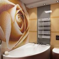 мозаика в ванной дизайн фото 19