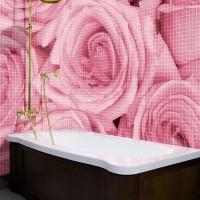 мозаика в ванной дизайн фото 21
