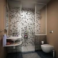 мозаика в ванной дизайн фото 24
