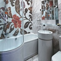 мозаика в ванной дизайн фото 25