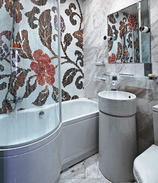 Мозаика для ванной комнаты дизайн фото