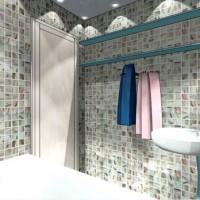 мозаика в ванной дизайн фото 27