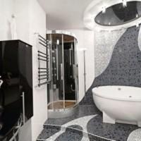 мозаика в ванной дизайн фото 28