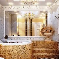 мозаика в ванной дизайн фото 30