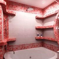 мозаика в ванной дизайн фото 31