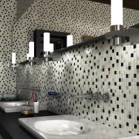 мозаика в ванной дизайн фото 43