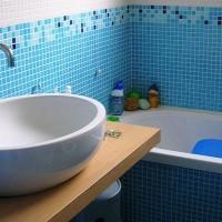 мозаика в ванной дизайн фото 49