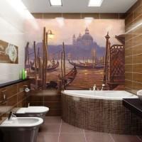 мозаика в ванной дизайн фото 50