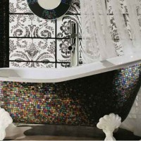 мозаика в ванной дизайн фото 6