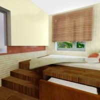 подиумные кровати фото 11