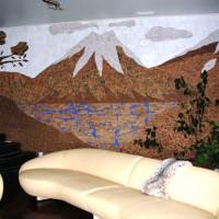 пробковое покрытие для стен фото 28