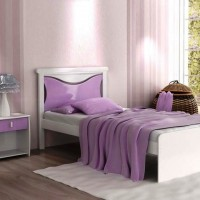 сиреневая спальня фото 13